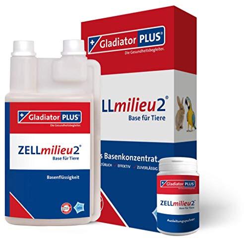 Gladiator Plus ZELLmilieu2 Base + Pulver für Tiere 500ml