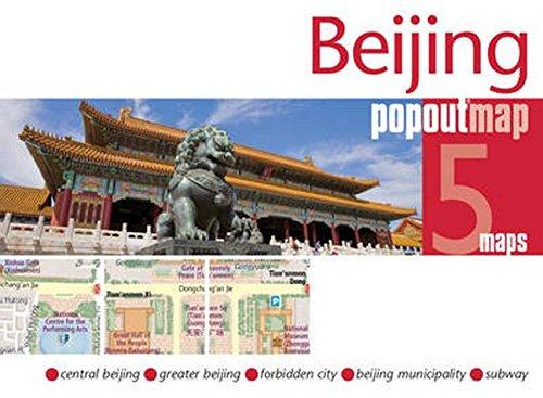 Beijing PopOut Map (PopOut Maps)