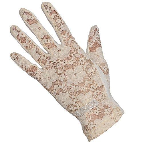 WARMEN les gants antisolaire de femme Beige