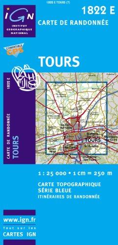 Carte de randonnée : Tours
