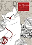 Cat Therapy: A mindful colouring book...