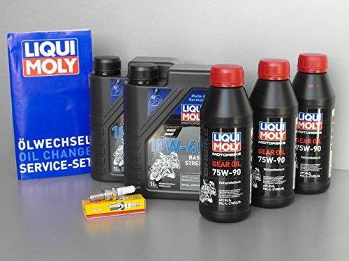 manutenzione-set-linhai-260300400quad-atv-ispezione-candela-olio-getriebeoel