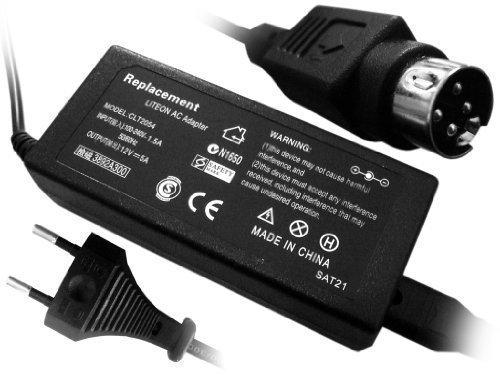 Troy-Power-Adapter für LCD- Bildschirm LCD 12V 5A (60W) für fast alle Bildschirme 4 Polig