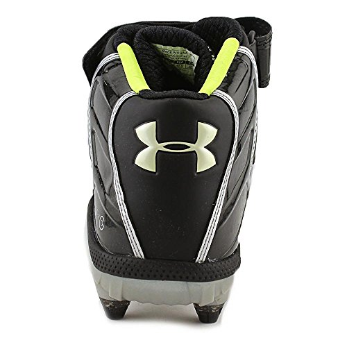 Under Armour Fierce Havoc Mid D Synthétique Baskets Blk-Blk
