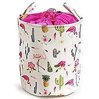 NIBESSER Felt Basket Storage Box with Handle Soft Durable Foldable Storage Bin Basket Laundry Hamper Toy Storage Organizer Bins Home Decorations