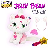 Shimmer Stars S19303 Jelly Bean The Cat Plüschtier, Weiß