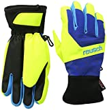 Reusch Kinder Torbenius R-Tex XT Junior Handschuhe, Imperial Blue/Neon Yellow, 6