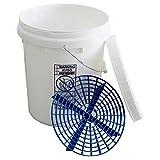 Christ Wascheimer 20 Liter mit Schraubdeckel inclusive Blue Grit Guard Einsatz
