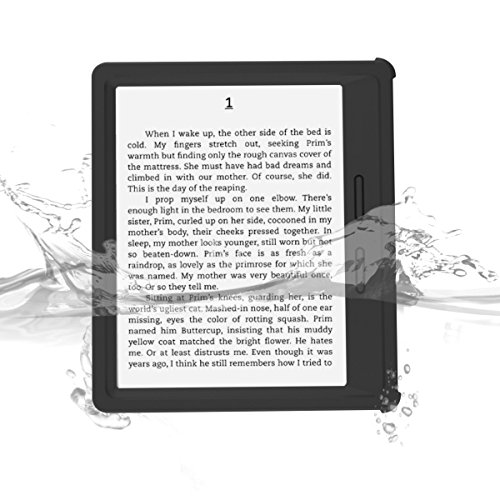Kindle Oasis Waterproof Case, iThrough® Waterproof Case, Dust Proof, Snow Proof, Shock Proof Full Sealed Protection Case with Touched Transparent Screen Protector for Amazon Kindle Oasis eBook