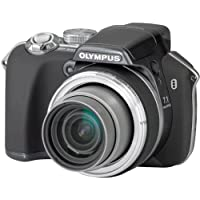 """Olympus SP-550 Ultra Zoom Digital Camera - Anthracite (7.1MP, 18x Optical Zoom) 2.5"""" LCD"""