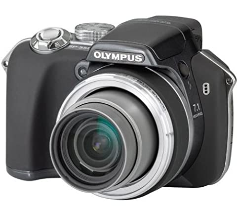 Olympus SP-550 Ultra Zoom Digital Camera - Anthracite (7.1MP, 18x