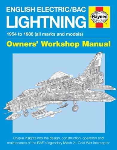English Electric/Bac Lightning Manual Cover Image