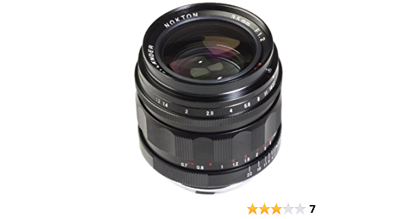 Voigtlander Nokton Asph Ii Lens 35mm Camera Photo