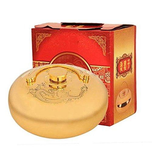 Botella de cobre de cálido artefacto para Elder, calentadores de manos calentador de pies, cálido suministros regalo de Navidad para Elder (pequeño)