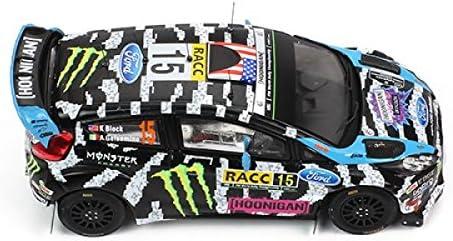 Ixo Ford Fiesta Fiesta Fiesta RS WRC-Rallye Catalunya 2014-Echelle 1/43, RAM601, Noir/Blanc | à L'aise  2b745d