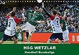 Handball Bundesliga - HSG Wetzlar (Wandkalender 2019 DIN A4 quer): Kalender der HSG Wetzlar mit aktuellen Bildern aus der Handball Bundesliga (Monatskalender, 14 Seiten ) (CALVENDO Sport)