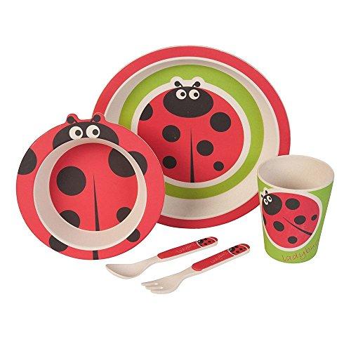 Set–couvert-Coccinelle-Ustensiles-en-bambou-Ustensiles-pour-enfants-rutilisables-Assiettes-Gobelets-Bol–muesli-cuillre-fourchette-rsistant-au-lave-vaisselle-sans-BPA