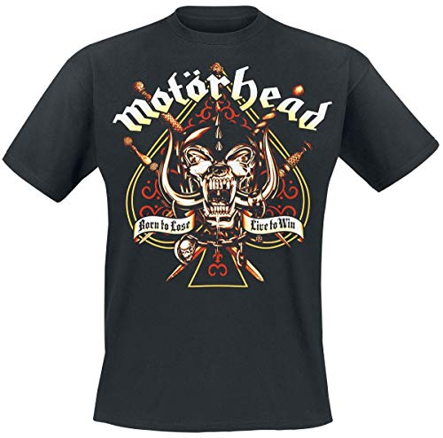 Motörhead Sword Spade Camiseta Negro XL