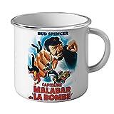Tazza Mug Smaltata Bud Spencer Film Cinema Malabar Punch