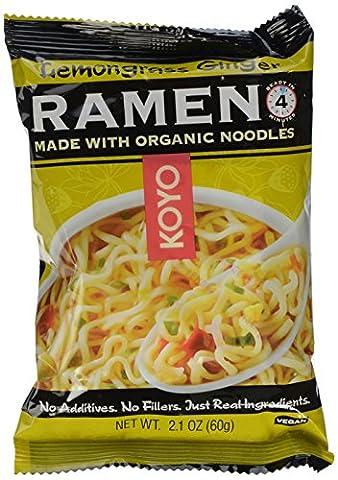 Koyo Natural Foods, Ramen, Lemongrass Ginger, 2.1
