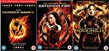 The worldwide phenomenon of 'The Hunger Games' Triple Pack: The Hunger Games / The Hunger Games: Catching Fire / The Hunger Games: Mockingjay Part 1 DVD Collection by Jennifer Lawrence