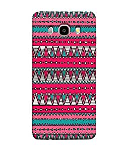 Samsung Galaxy J7 Prime (2016) Back Cover Colorful Tribal Vintage Ethnic Seamless Pattern Geometric Print Fabric Cloth Design Design From FUSON