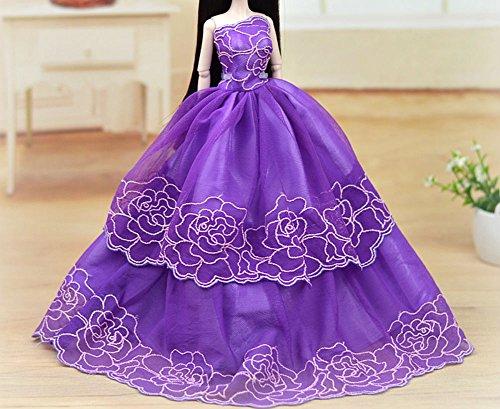 Moda bella fatto a mano Vestito da sposa per 11.5