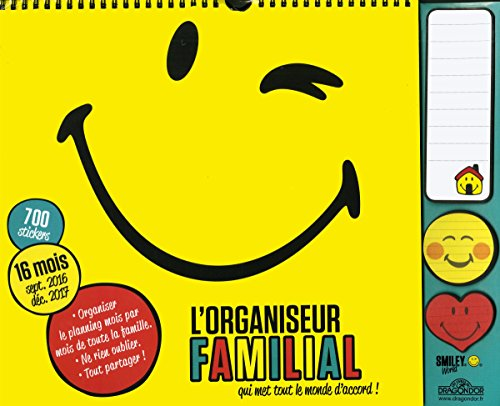 Organiseur Smiley 2016-2017