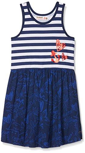 Desigual Mädchen Vest_Carson Kleid, Blau (Navy 5000), 152 (Herstellergröße: 11/12) (Navy Kinder Kleid)