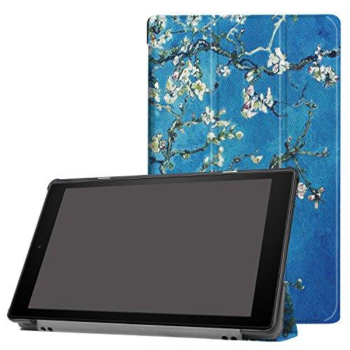 Cover für Amazon Fire HD10 10.1 Tablet Hülle Klapp-Tasche Halterung Case + Gratis Stylus Pen