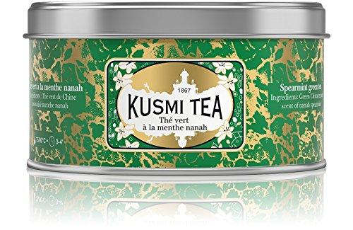 Kusmi Tea - Thé vert à la menthe nanah - Boîte métal 125g