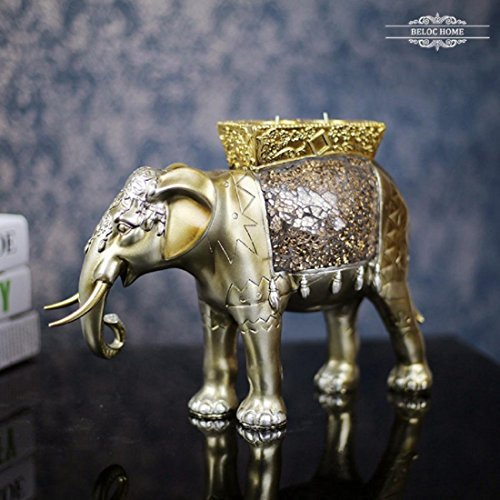 yyy-home-ornamenti-animali-elefante-porta-candela-resina-artigianali-regali-in-vetro-a-mano