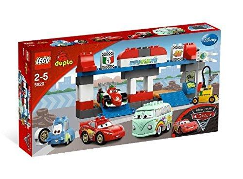 LEGO Duplo Cars 5829 - Großer Boxenstopp