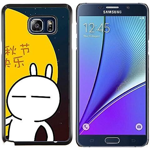 EJOOY---Pelle della copertura di caso di protezione dura ** Samsung Galaxy Note 5 5th N9200 ** --Natura Lago Mist