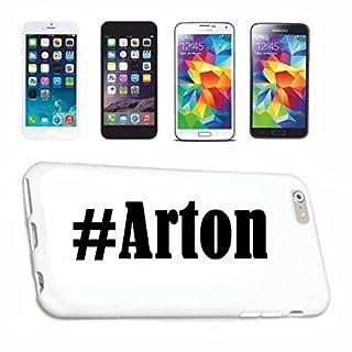 Handyhülle Samsung S8 Galaxy Hashtag #Arton im Social Network Design Hardcase Schutzhülle Handycover Smart Cover für Samsung Galaxy Smartphone in Weiß Schlank und schön, das ist unser HardCase. Das C