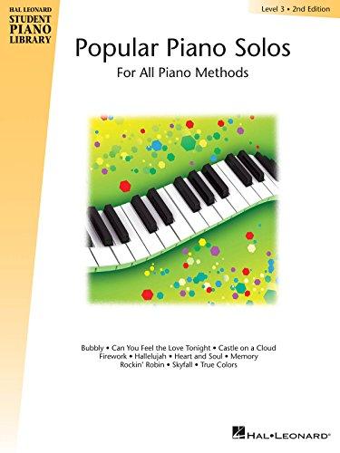 Popular piano solos level 3 piano (Hal Leonard Student Piano Library)
