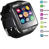 Reloj Inteligente, MallTEK Android Smartwatch con Ranura para Tarjeta SIM TF, Bluetooth Watch - Best Reviews Guide