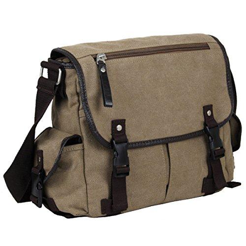 Yy.f New Canvas Bag Uomo Borsa Messenger Zaino Diagonale Borsa Degli Uomini Studenti Delle Scuole Superiori Maschile Borsa A Tracolla Casuale 2 Colori Giallo