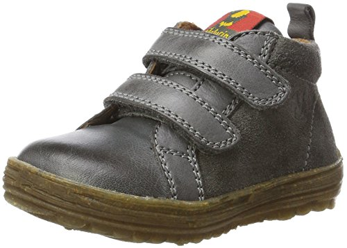 Naturino Baby Jungen Cloud VL Sneaker, Grau (Dunkel Grau-9106), 25 EU