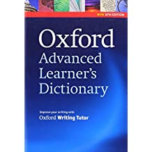 Oxford Advanced Learner's Dictionary, 8th Edition: Paperback