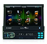Buddytec DV-500BT RDS-Autoradio mit 7'TFT USB SD/MMC MP4/MP3/WMA Bluetooth Fernbedienung 200 Watt
