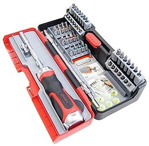 connex coxb973943 ratchet screwdriver set 43 pieces diy amp. Black Bedroom Furniture Sets. Home Design Ideas