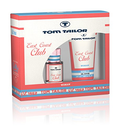 American Beauty Parfums (TOM TAILOR East Coast Club Woman Geschenkset: Eau de Toilette 30 ml + Duschgel 150 ml)
