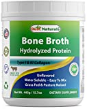 Best Hydrolyzed Collagens - Best Naturals Bone Broth Hydrolyzed Protein Type I Review