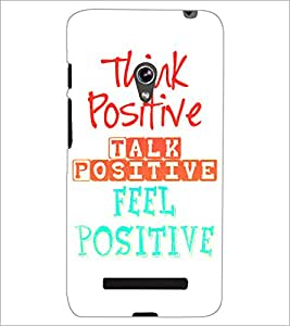 PrintDhaba Quote D-2870 Back Case Cover for ASUS ZENFONE 5 A501CG (Multi-Coloured)