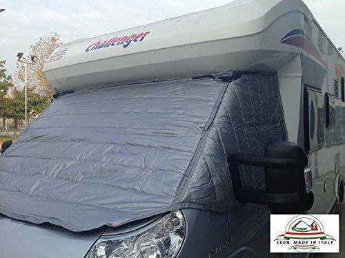 Covertech Rideau Extérieur Isotherme Cabine Fiat Ducato - Peugeot Boxer - Citroen Jumper 2006-2015 - CampingCar - Camper