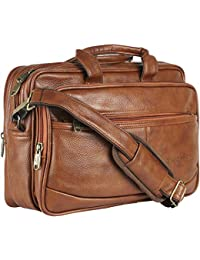 Thames Faux Leather 14 inches Laptop Messenger Bag/Sling Bag/Laptop Briefcase