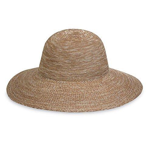 Wallaroo Hats Damen Hut Victoria Diva, Meliert Kamel, One Size, (Hut Kamel)