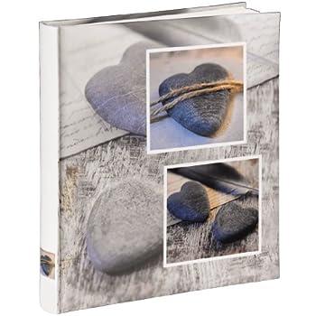100 weiße Seiten 30x30 cm Love Key Jumbo-Album Rustico