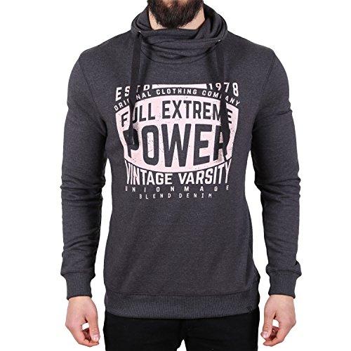 Blend Full Extreme Power Pullover Dunkelgrau Dunkelgrau